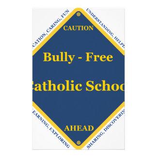 Bully - Free Catholic School Stationery