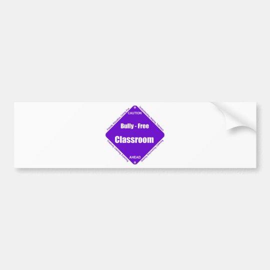 Bully - Free Classroom Bumper Sticker