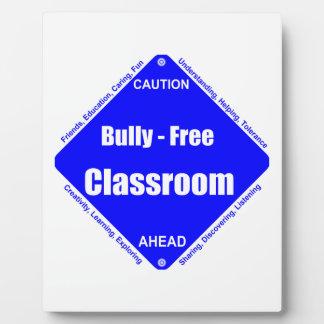 Bully - Free Classroom Calendar Plaque