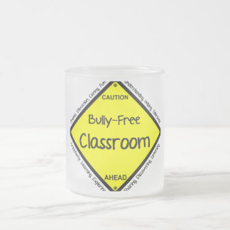 Bully Free Classroom Frosted Glass Coffee Mug