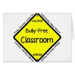 Bully Free Classroom Greeting Card