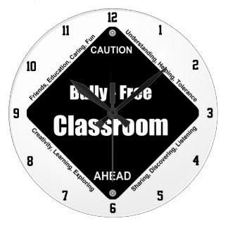 Bully - Free Classroom Large Clock