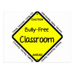 Bully Free Classroom Postcard
