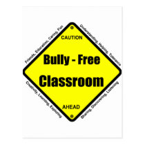 Bully - Free Classroom Postcard