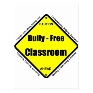 Bully - Free Classroom Postcards