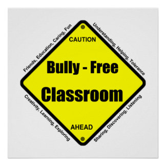 No Bullying Posters | Zazzle