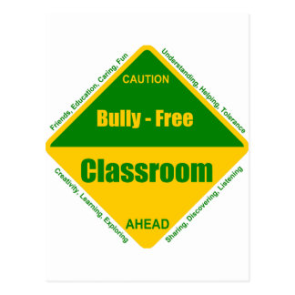 Bully - Free Classroom Products Postcard