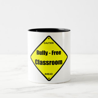 Bully - Free Classroom Two-Tone Coffee Mug
