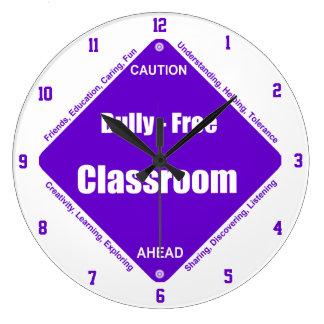 Bully - Free Classroom Wall Clock