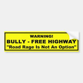 Bully - Free Highway Bumper Sticker