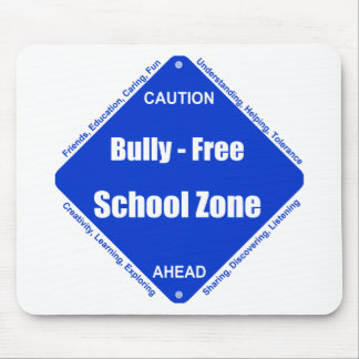 Bully - Free School Clock Mouse Pad