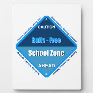 Bully- Free School Plaque