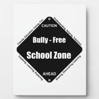 Bully - Free School Plaque
