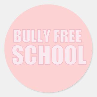 Bully Free School  Sticker