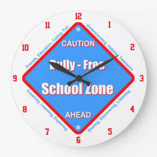 Bully - Free School Wall Clock