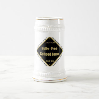 Bully - Free School Zone Beer Stein