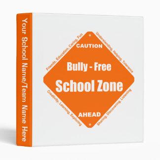 Bully - Free School Zone Binder