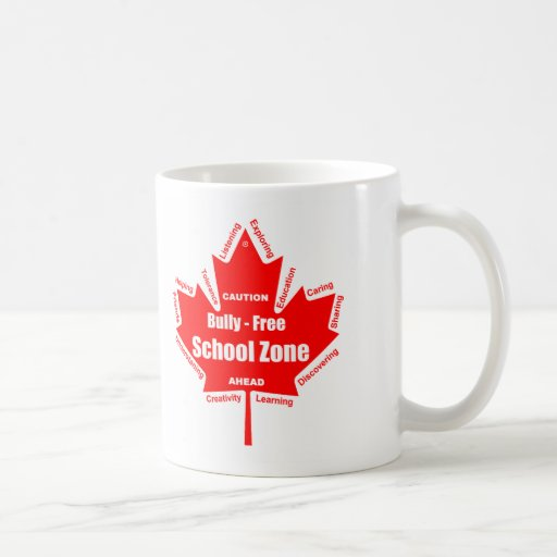 Bully - Free School Zone Canada Mug