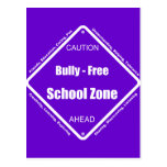 Bully - Free School Zone Postcards