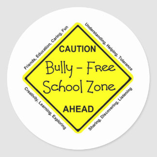 Bully - Free School Zone Stickers