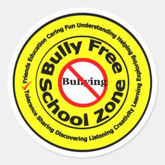 Bully Free School Zone Sticker