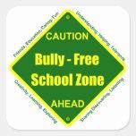 Bully - Free School Zone Sticker