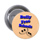 Bully Free Schools Pinback Buttons