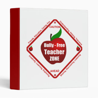 Bully - Free Teacher Zone 3 Ring Binder