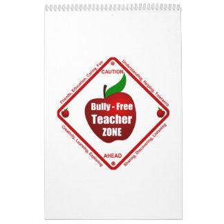 Bully - Free Teacher Zone Calendar