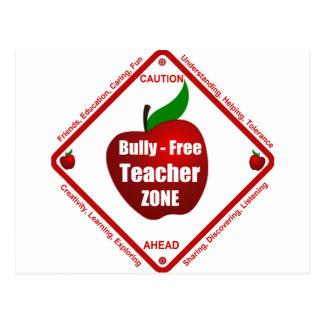 Bully - Free Teacher Zone Post Card