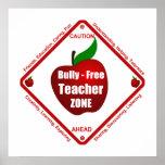 Bully - Free Teacher Zone Poster