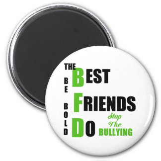 Bully Free World 2 Inch Round Magnet