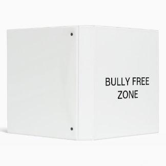 Bully Free Zone Binder