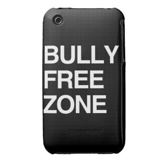BULLY FREE ZONE iPhone 3 Case-Mate CASES