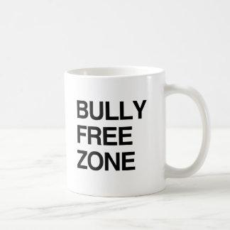 BULLY FREE ZONE CLASSIC WHITE COFFEE MUG