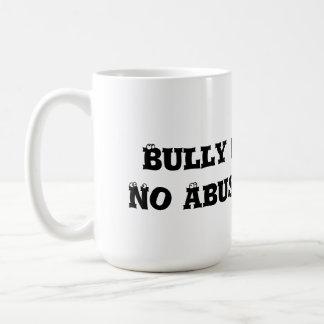 Bully Free Zone: No Abuse Allowed - Anti Bully Classic White Coffee Mug