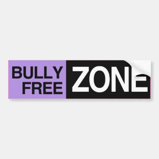BULLY FREE ZONE -.png Car Bumper Sticker