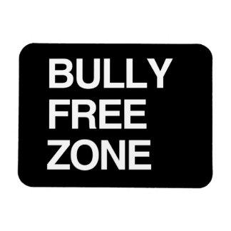 BULLY FREE ZONE VINYL MAGNET