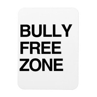 BULLY FREE ZONE FLEXIBLE MAGNETS
