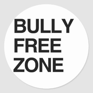 BULLY FREE ZONE STICKERS