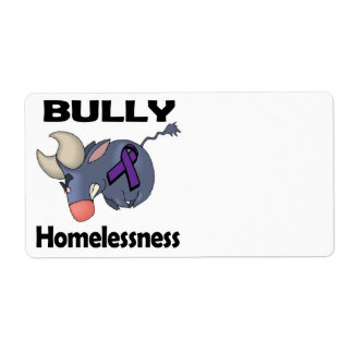BULLy Homelessness Shipping Label