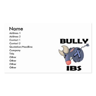 BULLy IBS Double-Sided Standard Business Cards (Pack Of 100)