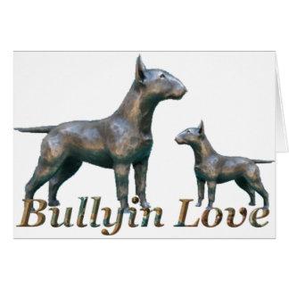 Bully in Love Card