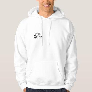 Bully Love Bullmastiff, Love Me Hooded Sweatshirt