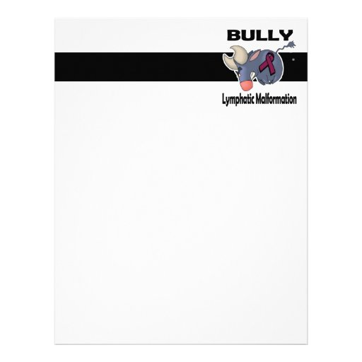 BULLy Lymphatic Malformation Letterhead Template