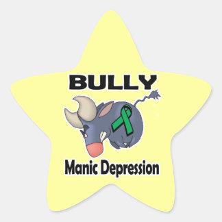 BULLy Manic Depression Star Sticker