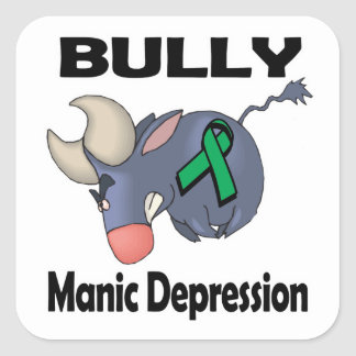 BULLy Manic Depression Stickers