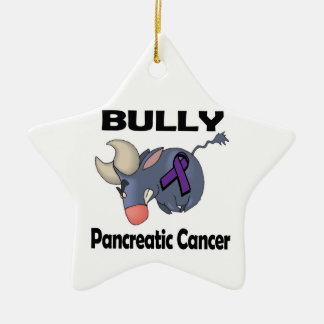 BULLy Pancreatic Cancer Christmas Tree Ornaments