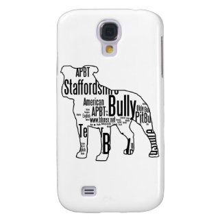 Bully Shape with rescue words Samsung Galaxy S4 Cases
