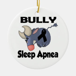 BULLy Sleep Apnea Christmas Ornament